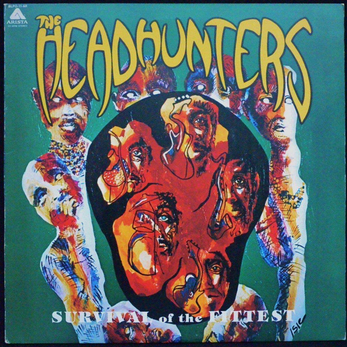 ヘッドハンターズ THE HEADHUNTERS / 驚異のファンキー軍団 SURVIVAL OF THE FITTEST (LP)