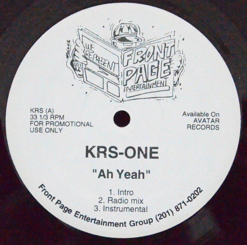 KRS-ONE / AH YEAH (12