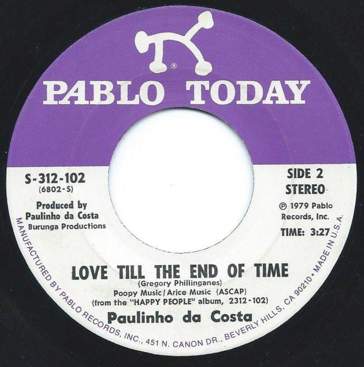 PAULINHO DA COSTA / LOVE TILL THE END OF TIME / DEJA VU (7
