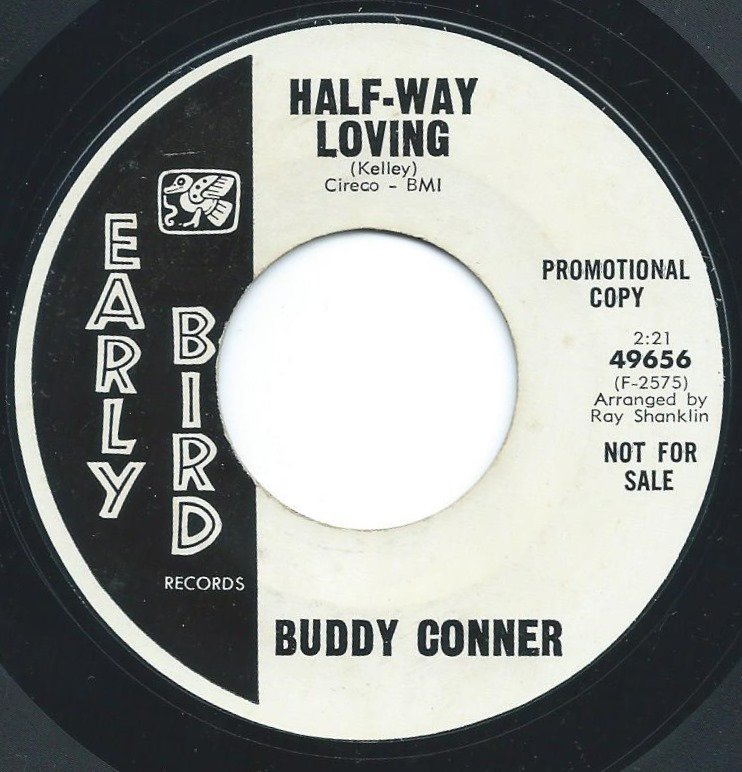 BUDDY CONNER / HALF-WAY LOVING / THIS IS LOVE (7