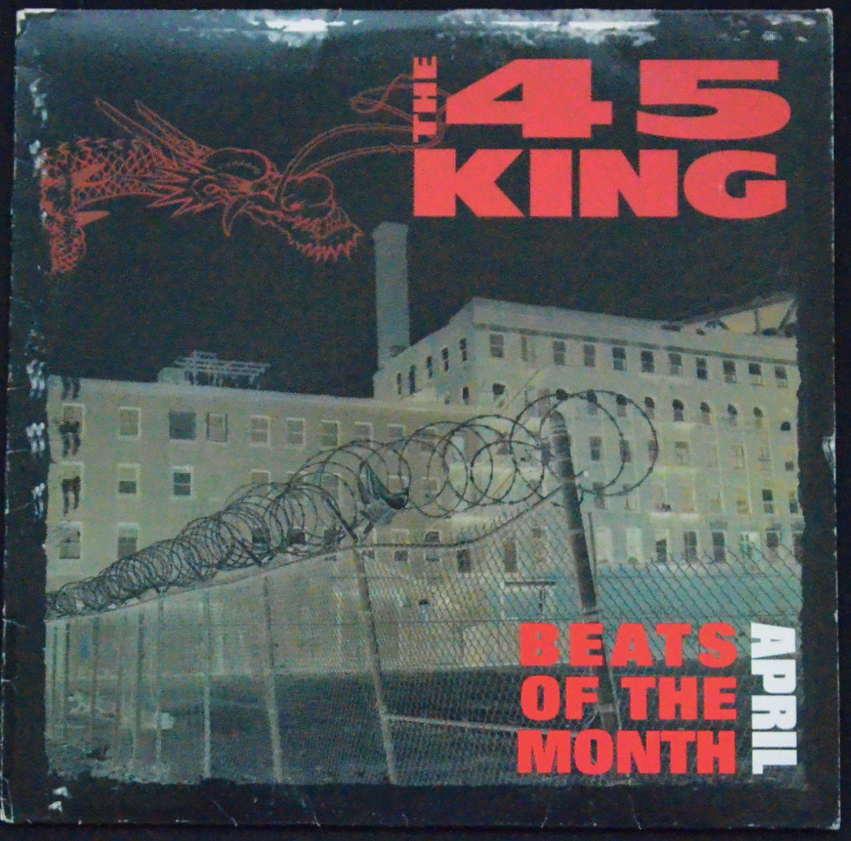 THE 45 KING / BEATS OF THE MONTH APRIL (1LP)