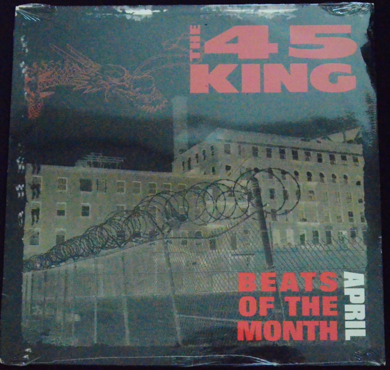 THE 45 KING ‎/ BEATS OF THE MONTH APRIL (1LP)
