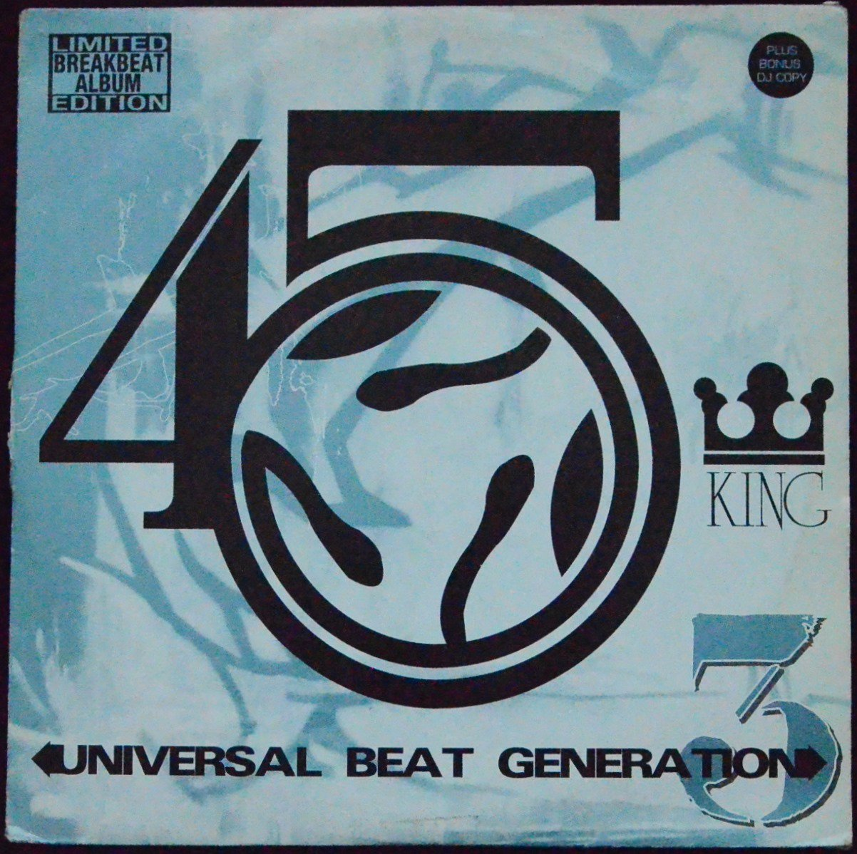 THE 45 KING / UNIVERSAL BEAT GENERATION 3 (2LP)