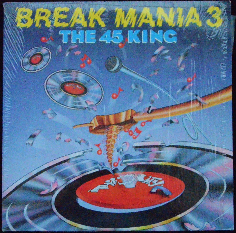 THE 45 KING / BREAK MANIA 3 (1LP)