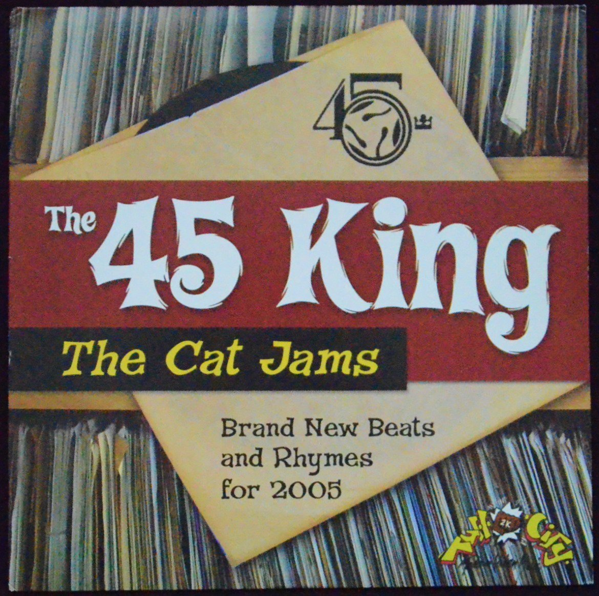 THE 45 KING / THE CAT JAMS (1LP)