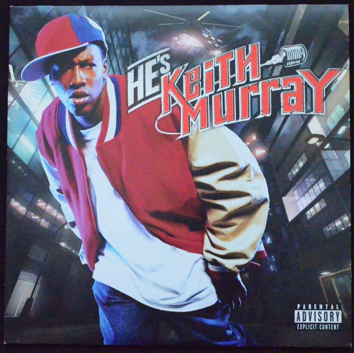 KEITH MURRAY / HE'S KEITH MURRAY (2LP)