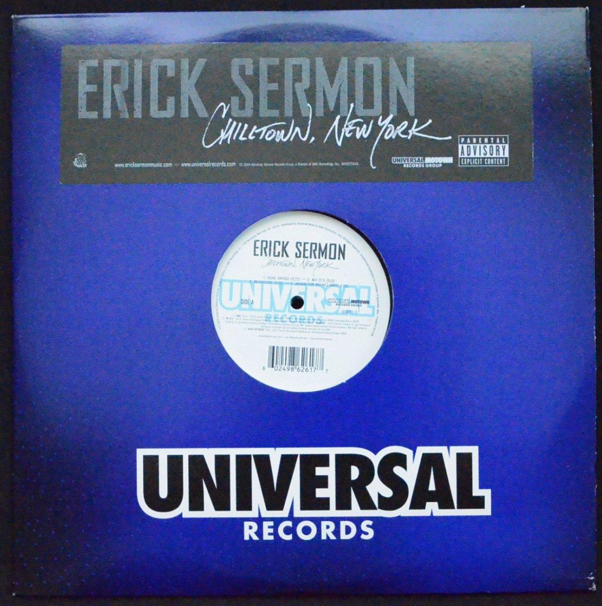 ERICK SERMON / CHILLTOWN, NEW YORK (2LP)