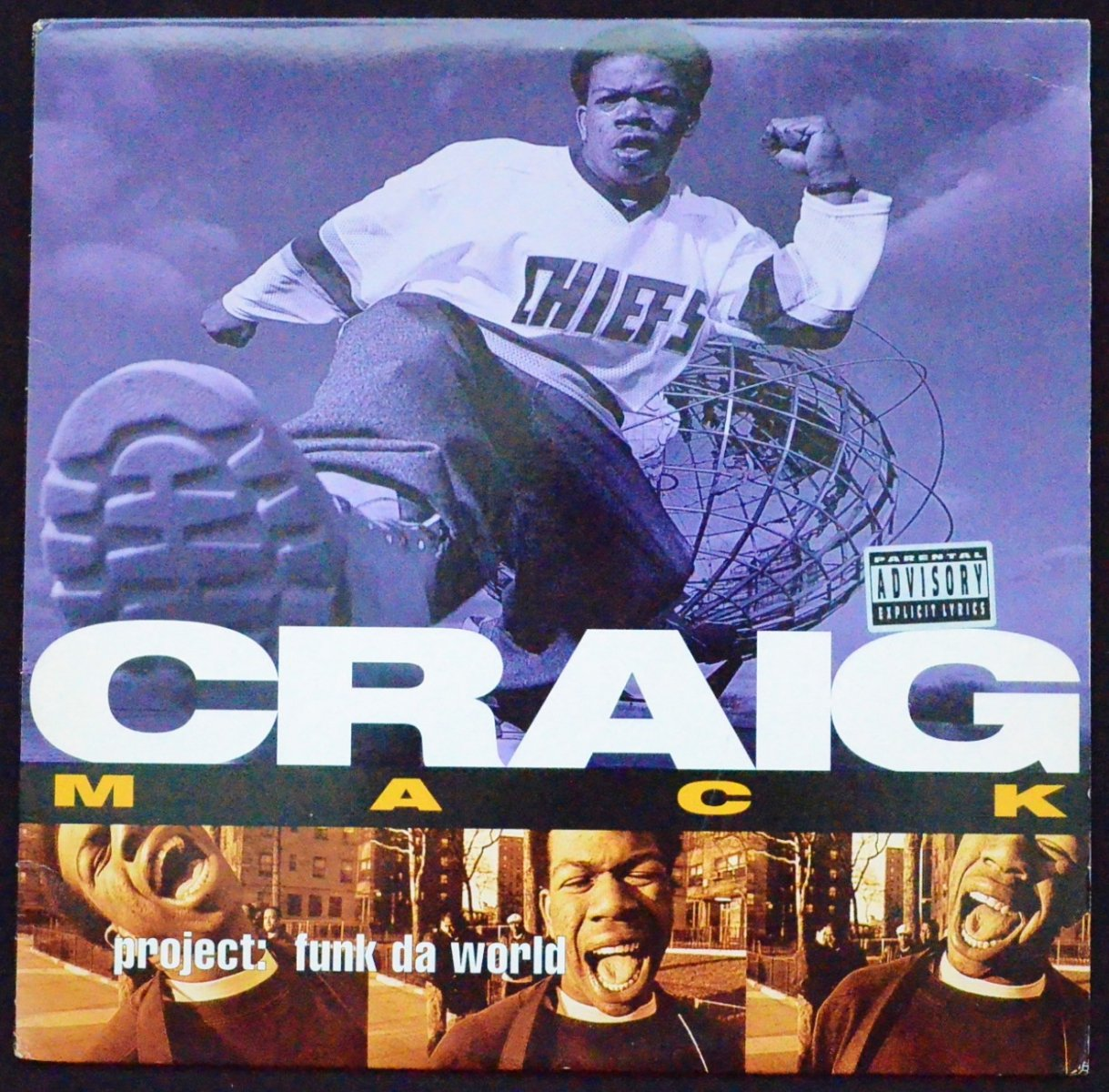 CRAIG MACK ‎/ PROJECT: FUNK DA WORLD (1LP)