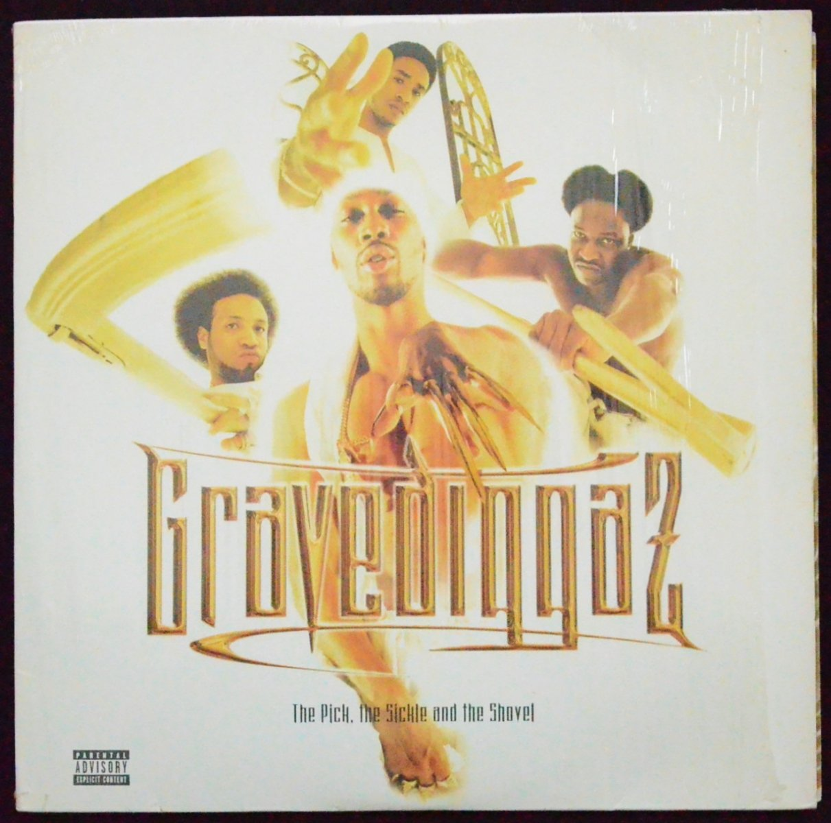 GRAVEDIGGAZ ‎/ THE PICK, THE SICKLE AND THE SHOVEL (2LP)