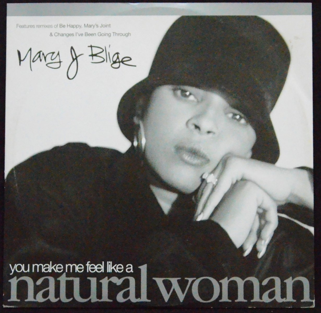 MARY J. BLIGE ‎/ (YOU MAKE ME FEEL LIKE A) NATURAL WOMAN (12
