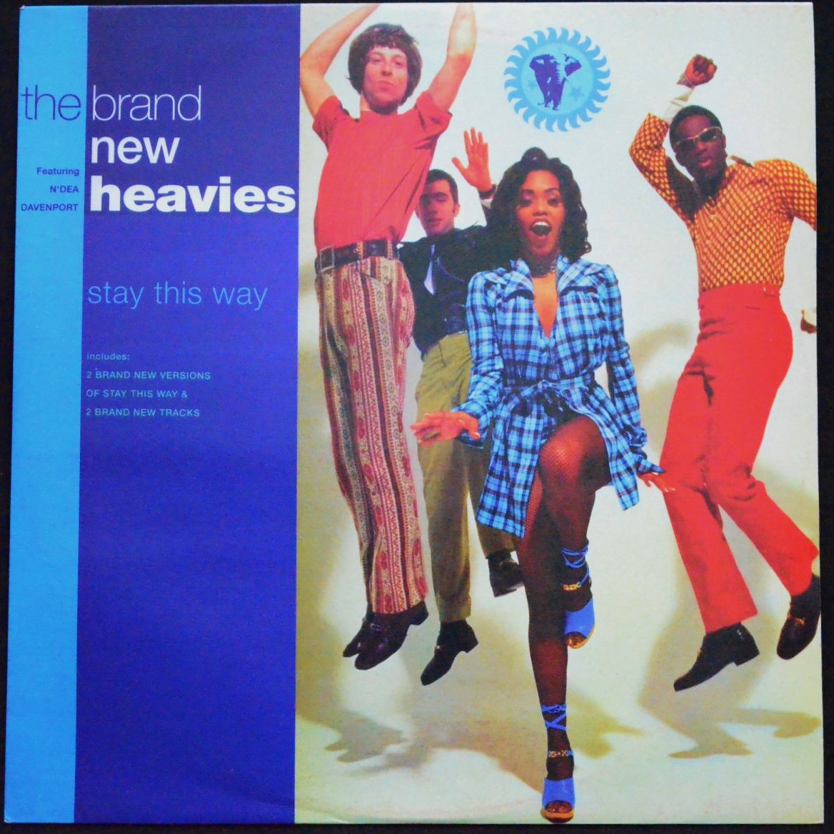 THE BRAND NEW HEAVIES FEATURING N'DEA DAVENPORT ‎/ STAY THIS WAY (12