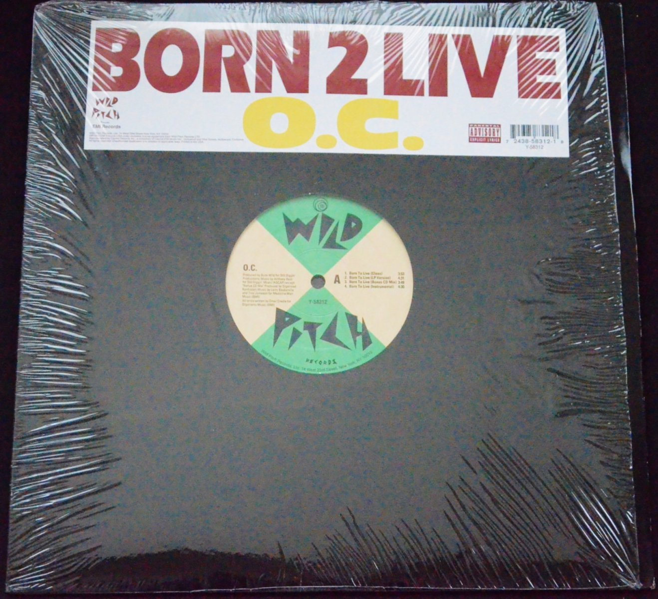 O.C. ‎/ BORN 2 LIVE / LET IT SLIDE (12