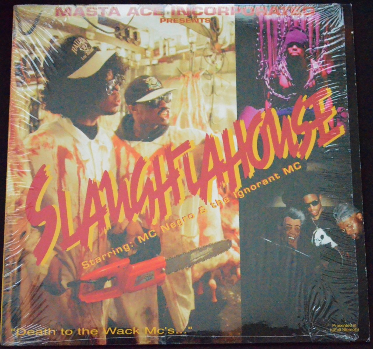MASTA ACE INCORPORATED / SLAUGHTAHOUSE / ORN TO ROLL (
