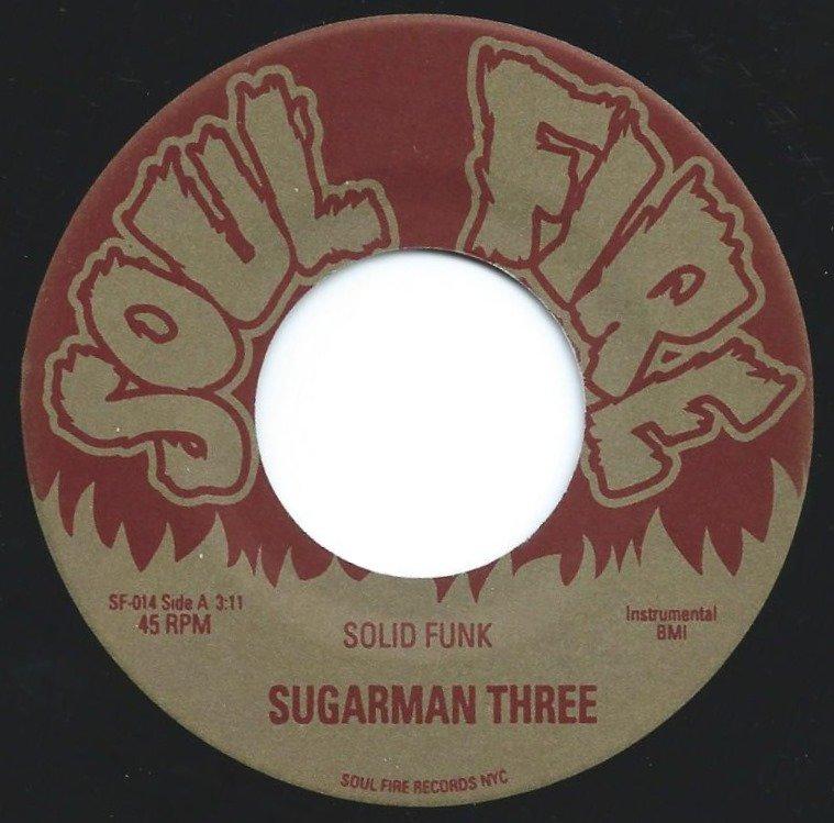 SUGARMAN THREE / SOLID FUNK / FUNKY MOON (7