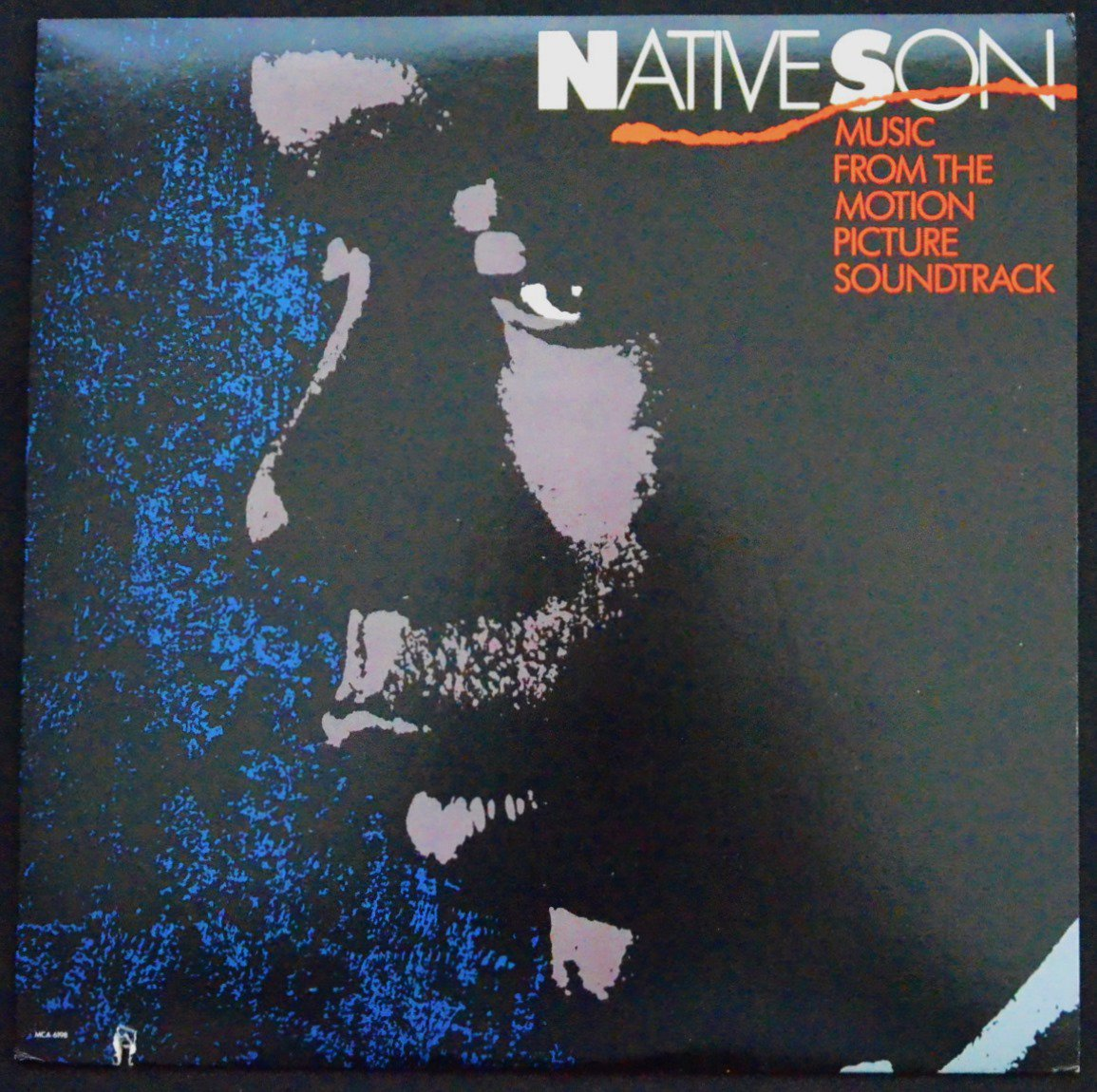 JAMES MTUME ‎/ NATIVE SON (MUSIC FROM THE MOTION PICTURE SOUNDTRACK) (LP)