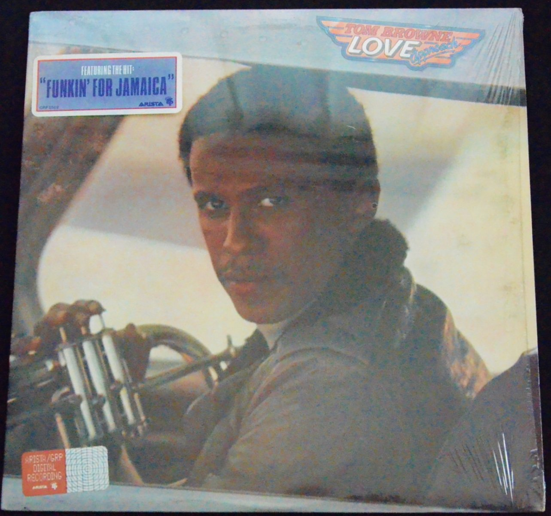 TOM BROWNE / LOVE APPROACH (LP)