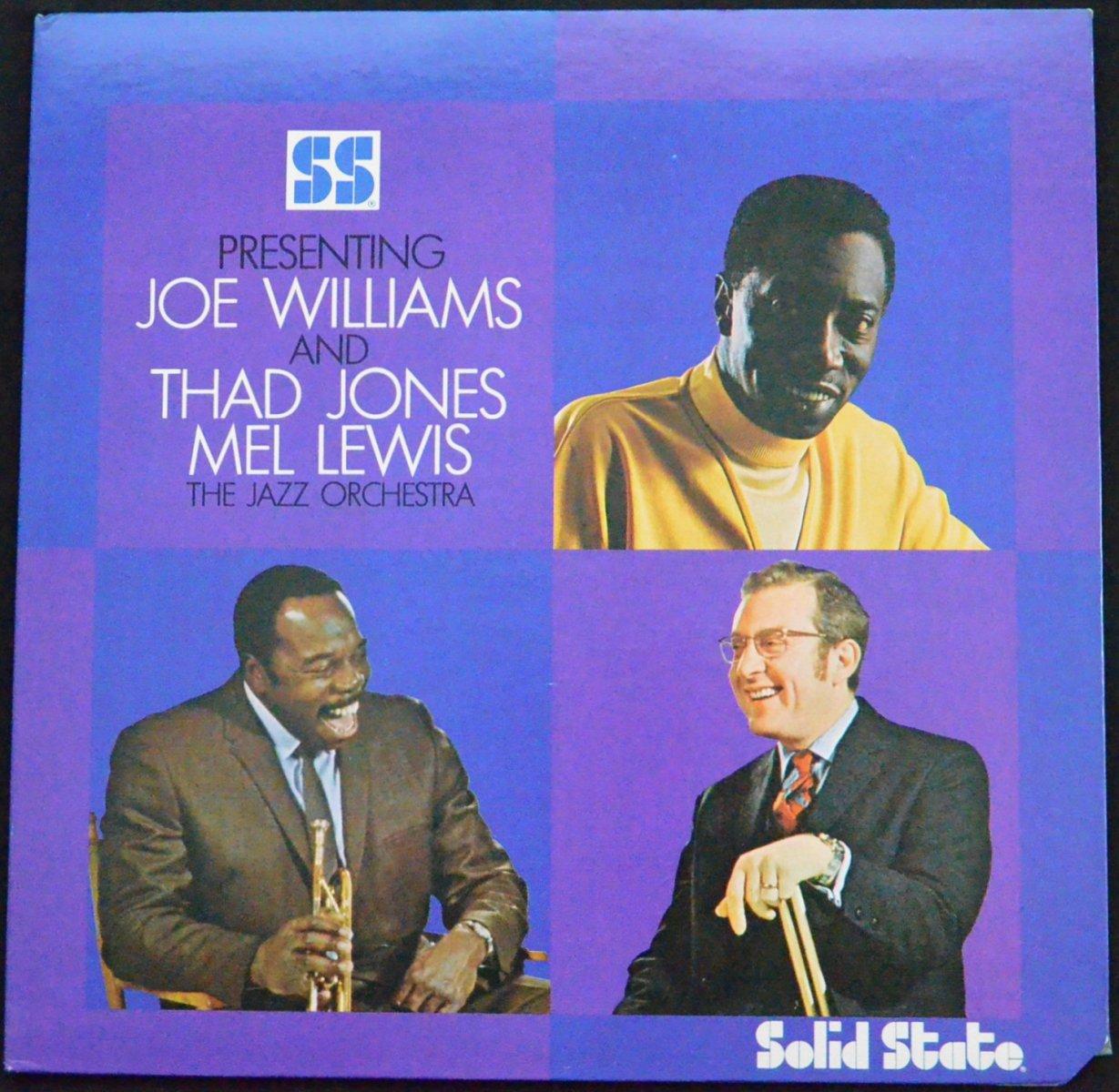 JOE WILLIAMS AND THE JAZZ ORCHESTRA / JOE WILLIAMS AND THE JAZZ ORCHESTRA (LP)