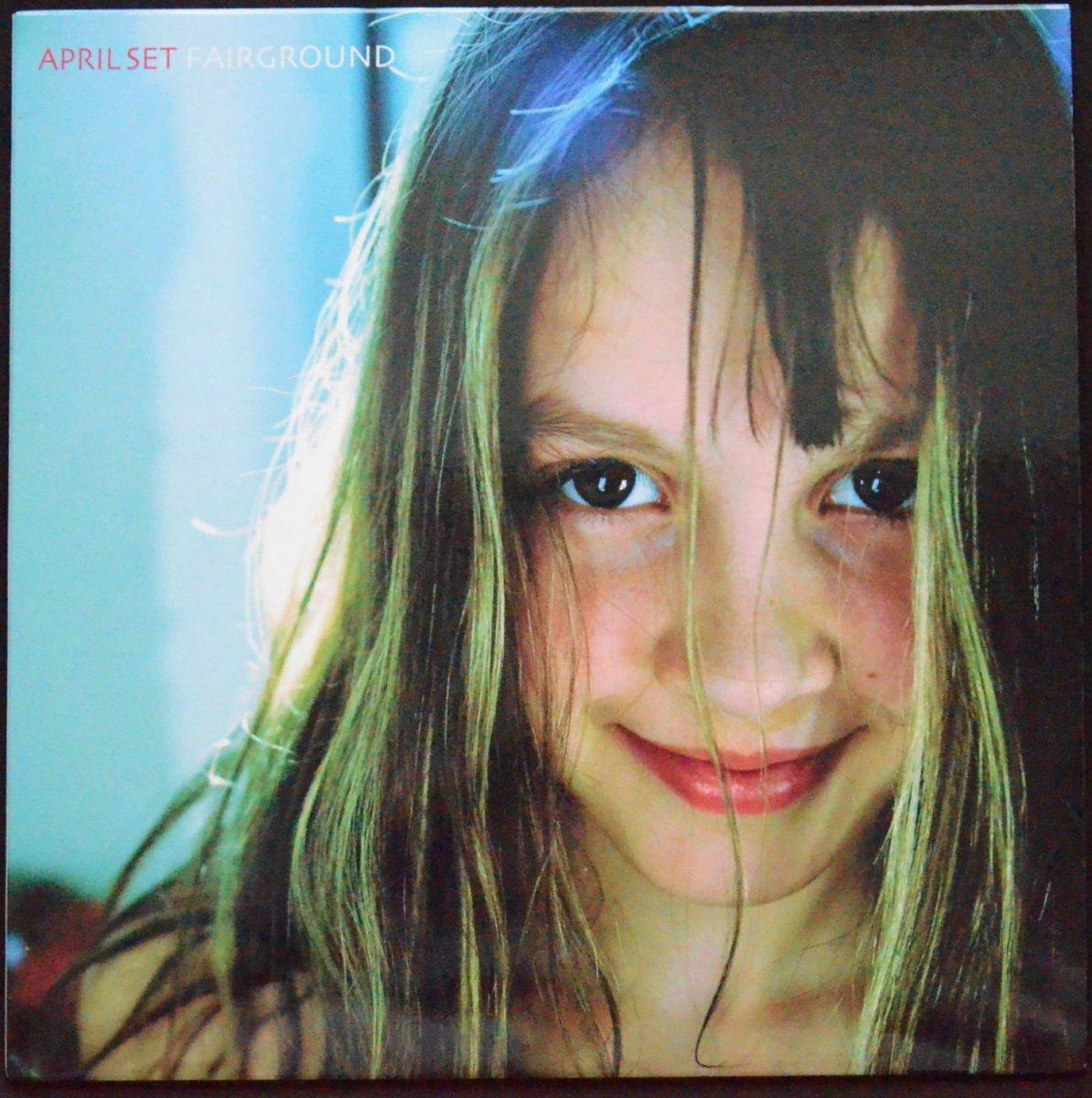 APRIL SET (エイプリル・セット) / FAIRGROUND (LP)