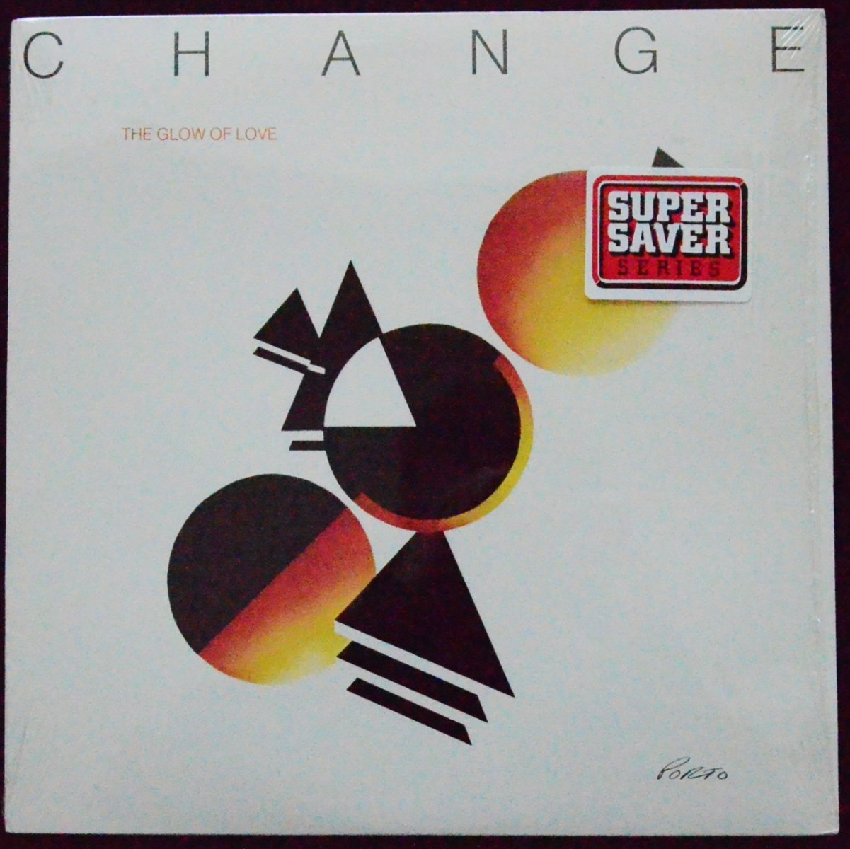CHANGE / THE GLOW OF LOVE (LP)