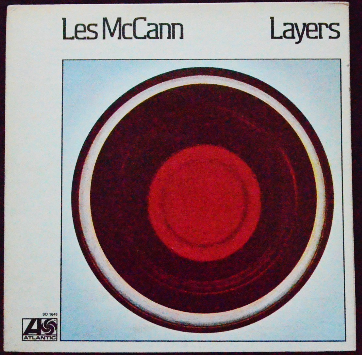 LES MCCANN ‎/ LAYERS (LP)