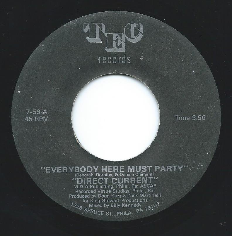 DIRECT CURRENT / EVERYBODY HERE MUST PARTY (7