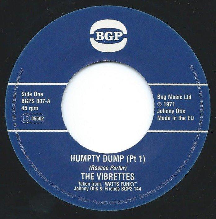 THE VIBRETTES / HUMPTY DUMP (7