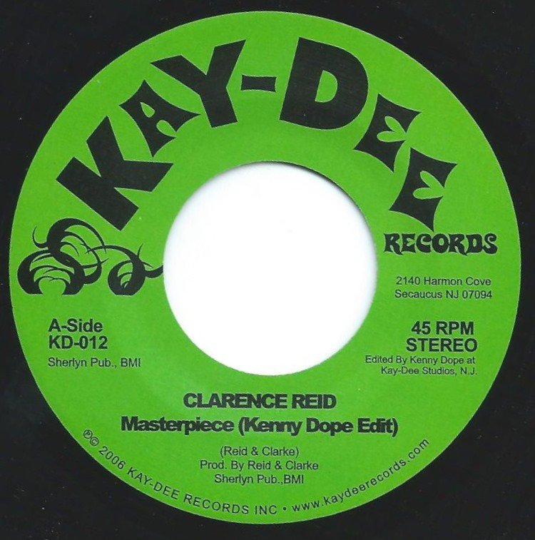 CLARENCE REID / MASTERPIECE (KENNY DOPE EDIT) (7