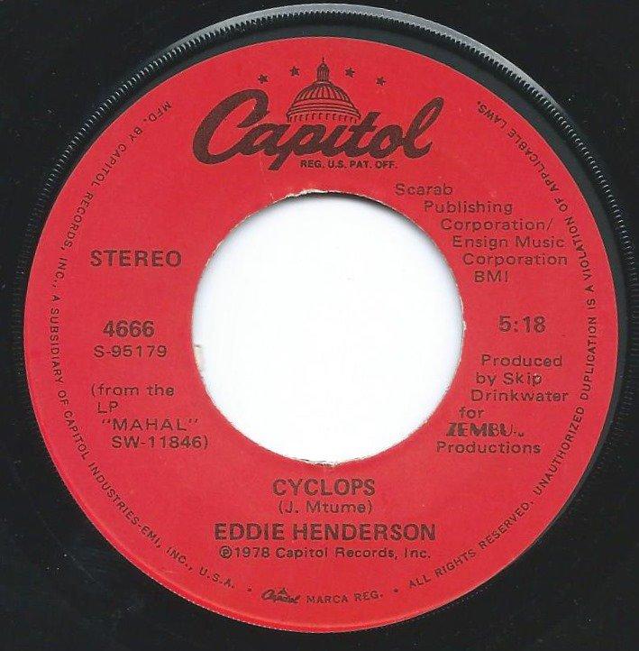 EDDIE HENDERSON / CYCLOPS / PRANCE ON (7