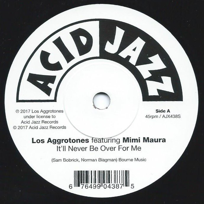 LOS AGGROTONES / IT'LL NEVER BE OVER FOR ME / YOU DON'T MEAN ME NO GOOD (7