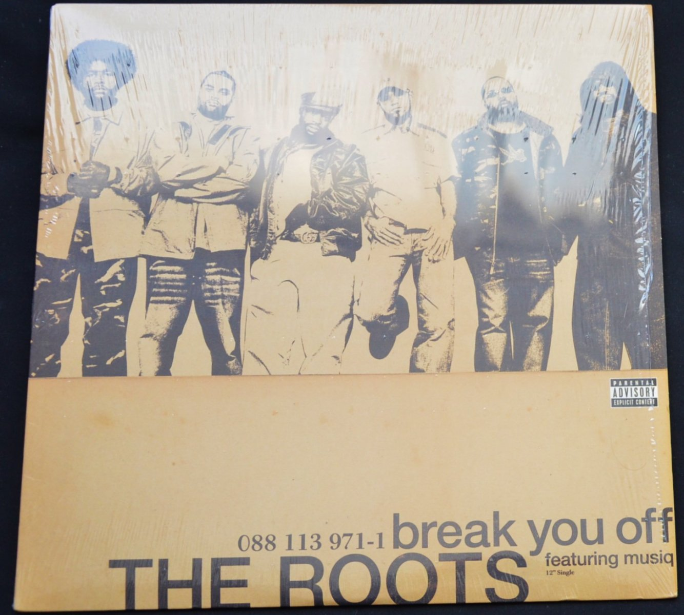 THE ROOTS FEATURING MUSIQ / BREAK YOU OFF (12