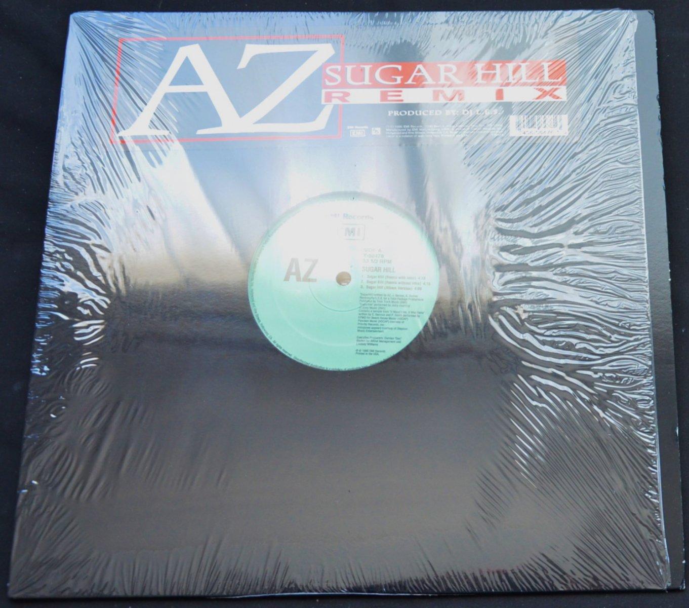 AZ / SUGAR HILL (REMIX) (PROD BY L.E.S.) / RATHER UNIQUE (PROD BY PETE ROCK) (12