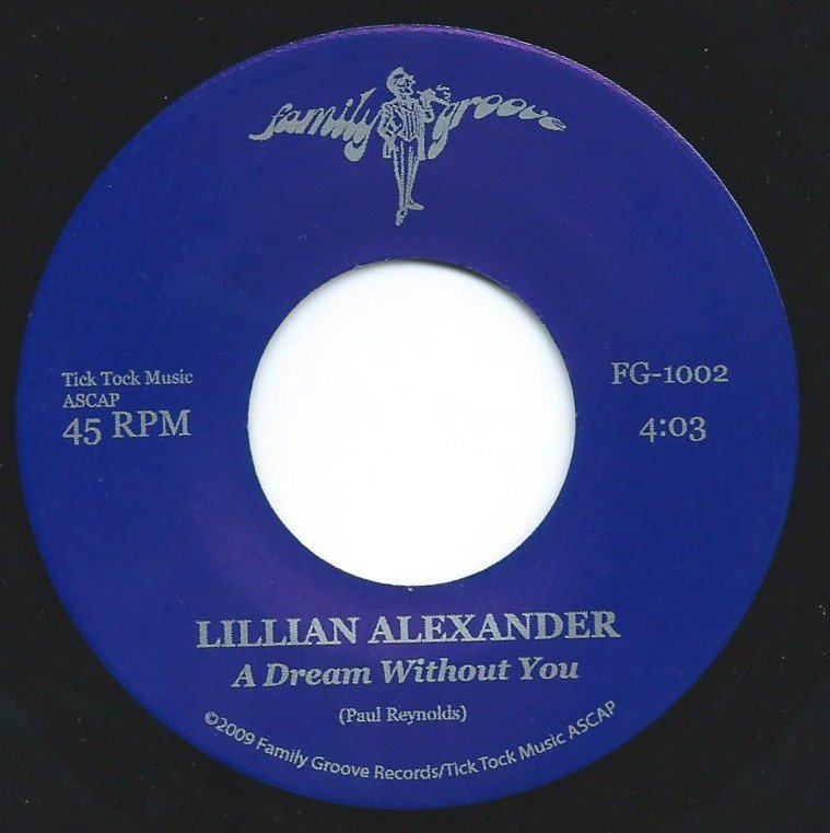LILLIAN ALEXANDER / A DREAM WITHOUT YOU (7