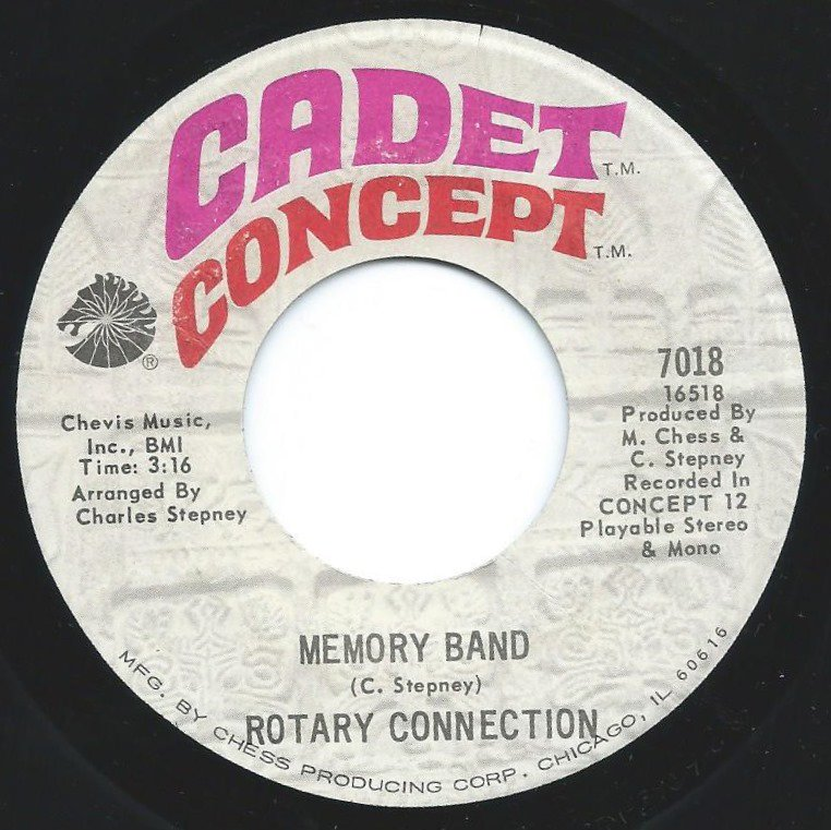 ROTARY CONNECTION ‎/ MEMORY BAND / WANT YOU TO KNOW (7