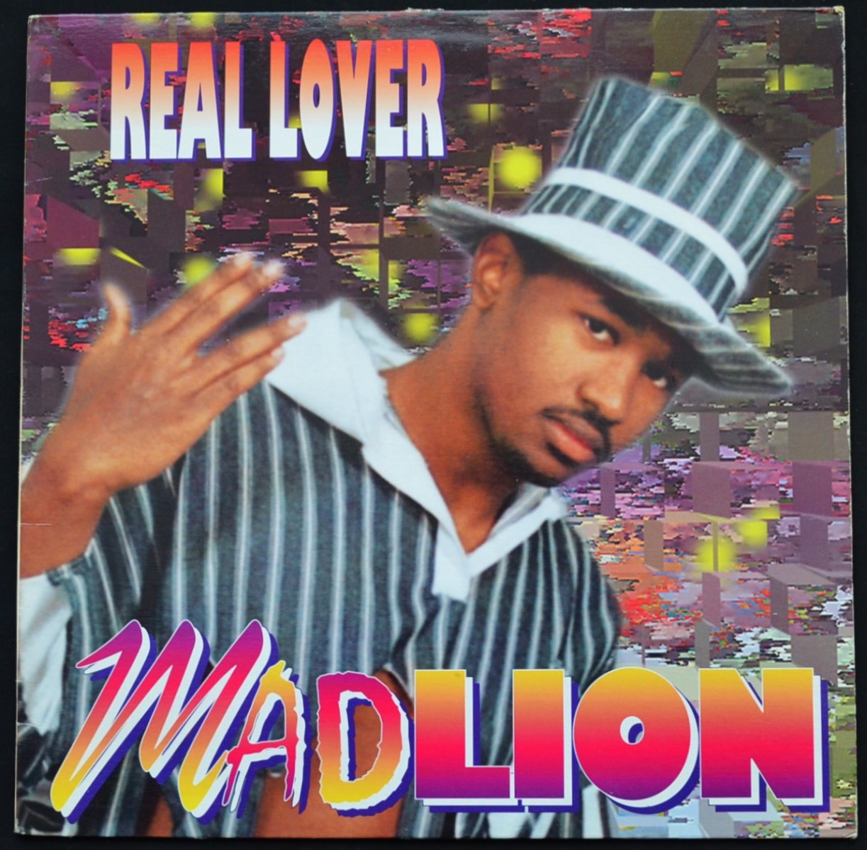 MAD LION ‎/ REAL LOVER (1LP)