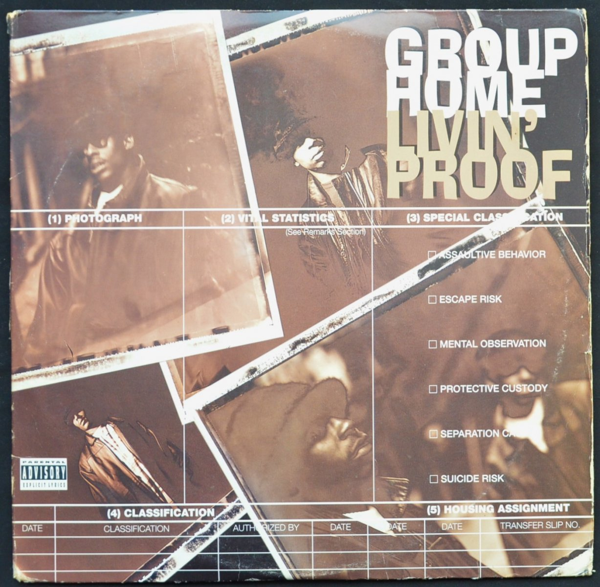 GROUP HOME / LIVIN' PROOF (2LP)