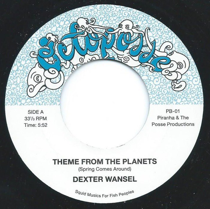 DEXTER WANSEL / PLEASURE / THEME FROM THE PLANETS / BOUNCY LADY (INSTRUMENTAL) (7