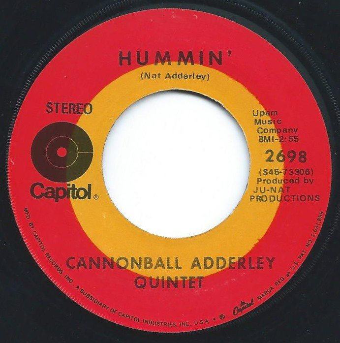 THE CANNONBALL ADDERLEY QUINTET / HUMMIN' / COUNTRY PREACHER (7