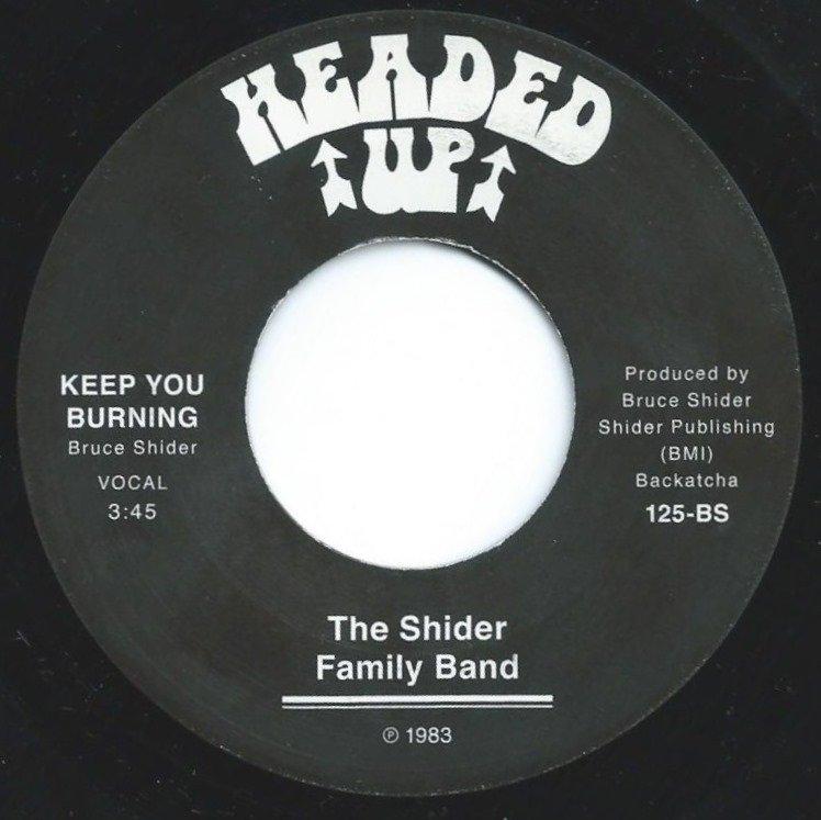 THE SHIDER FAMILY BAND / KEEP YOU BURNING (7