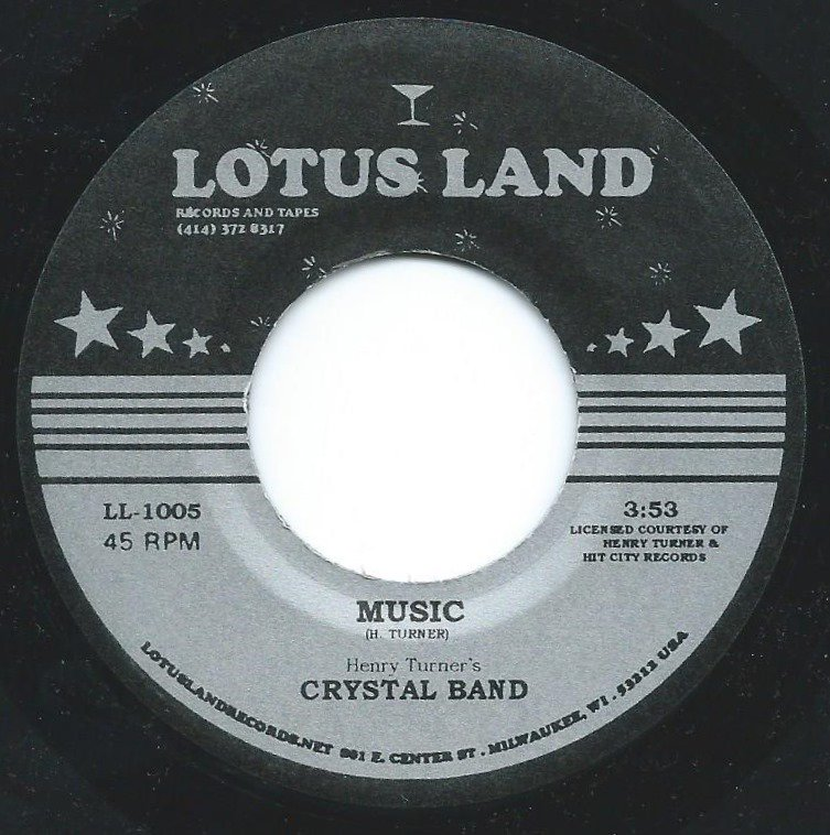 HENRY TURNER'S CRYSTAL BAND / MUSIC / GIVING MY LOVE UP TO YOU (7