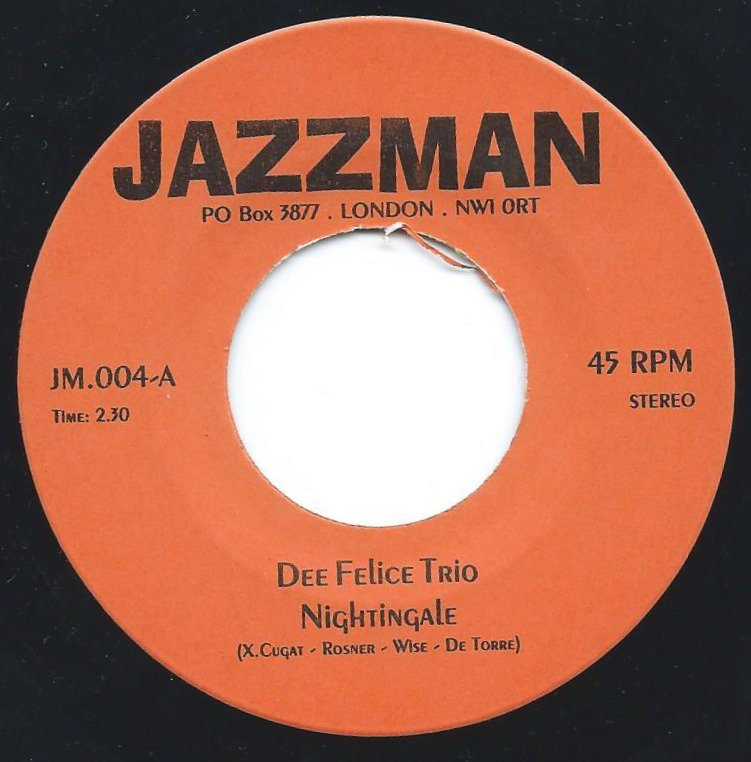 DEE FELICE TRIO / LOS BRASILIOS - NIGHTINGALE / BRASILIAN BEAT (7
