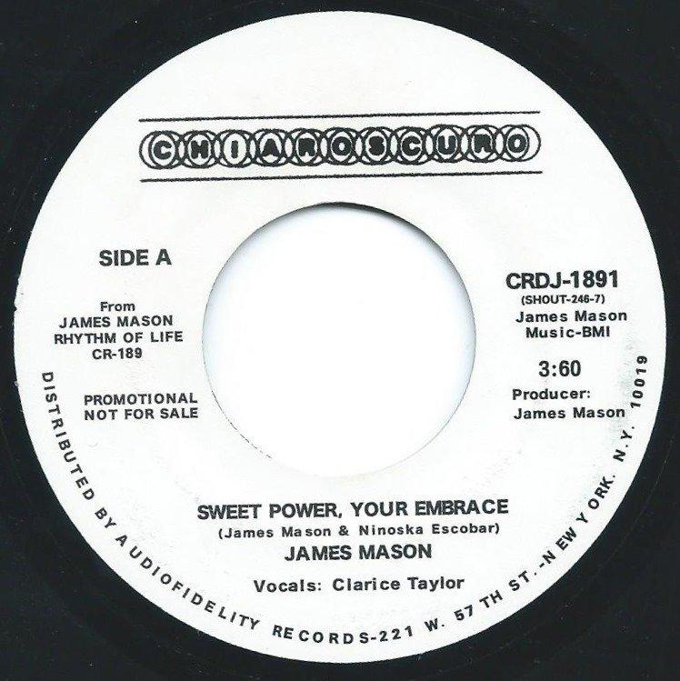 JAMES MASON / SWEET POWER,YOUR EMBRACE / FREE (7