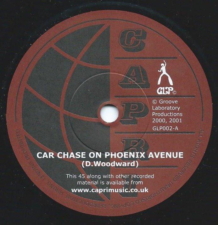 CAPRI / CAR CHASE ON PHOENIX AVENUE / SHAKE IT (7