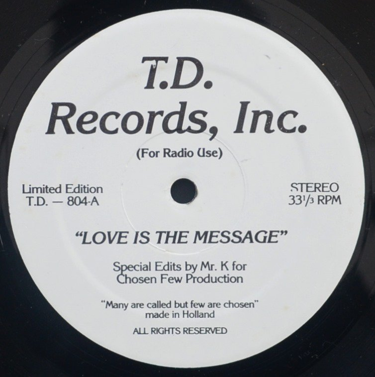 MFSB / THE CHI-LITES / LOVE IS THE MESSAGE / MY FIRST MISTAKE (12