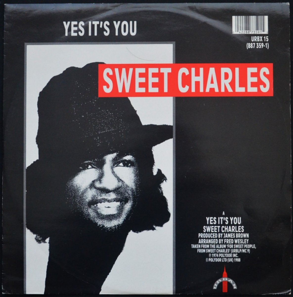 SWEET CHARLES / LYN COLLINS ‎/ YES IT'S YOU / ROCK ME AGAIN / THINK ABOUT IT (12