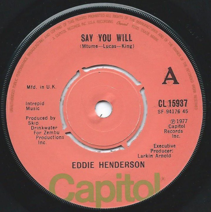 EDDIE HENDERSON / SAY YOU WILL / THE FUNK SURGEON (7