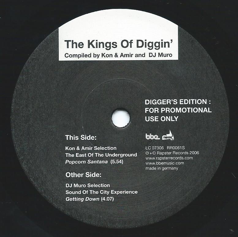 THE EAST OF THE UNDERGROUND / POPCORN SANTANA / THE KINGS OF DIGGIN' (DJ MURO & KON & AMIR) (7