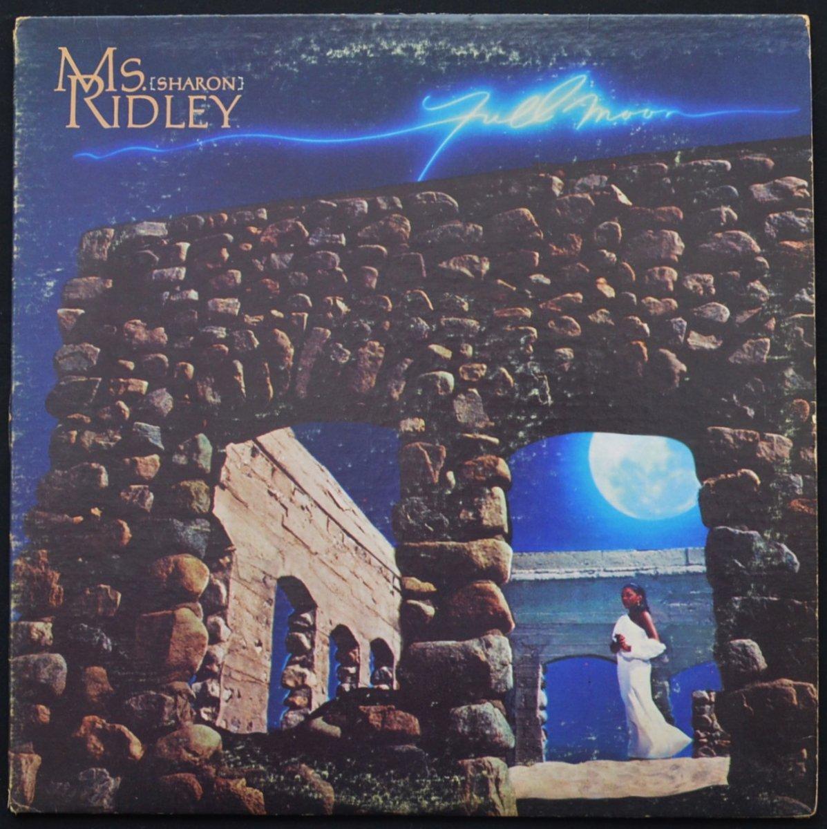 MS. (SHARON) RIDLEY / FULL MOON (LP)