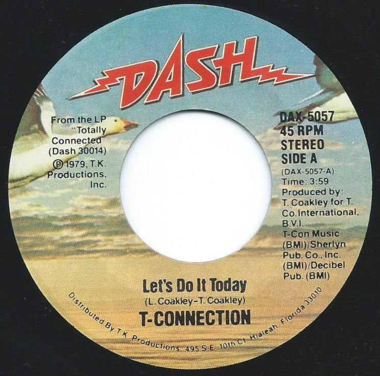 T-CONNECTION / LET'S DO IT TODAY / DANGER ZONE (7