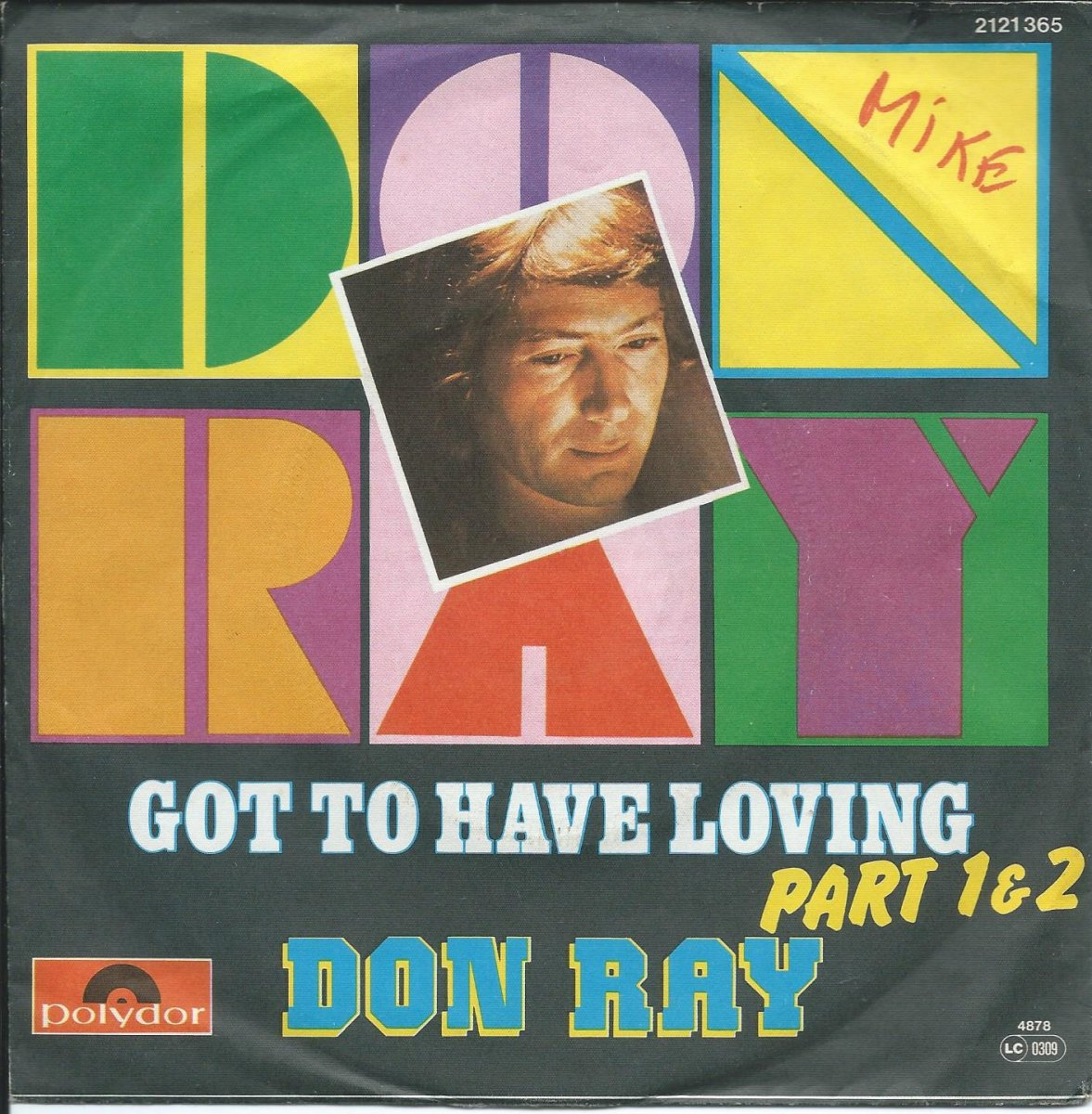 DON RAY / GOT TO HAVE LOVING PART 1 & PART 2 (7