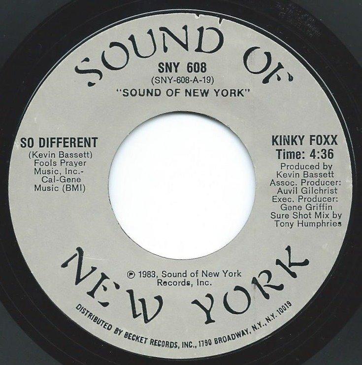 KINKY FOXX / SO DIFFERENT (7